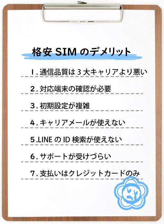 格安SIMのデメリット-02