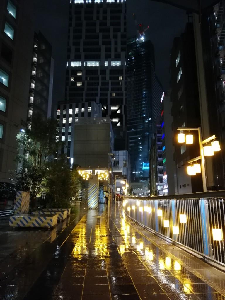 P20lite_渋谷川